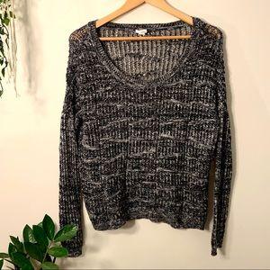 Garage- Oversized Slouchy Knit Sweater